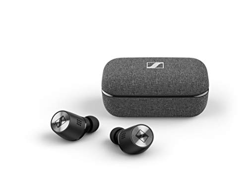 SENNHEISER Momentum True Wireless 2 - Bluetooth in-Ear Buds with Active Noise Cancellation, Smart Pause, Customizable Touch Control and 28-Hour Battery Life - Black (M3IETW2 Black)