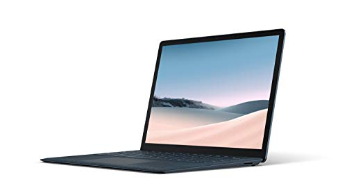 Microsoft Surface Laptop 3 – 13.5' Touch-Screen – Intel Core i5 - 8GB Memory - 256GB Solid State Drive – Cobalt Blue with Alcantara