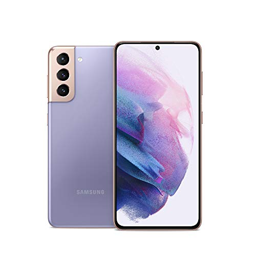 Samsung Galaxy S21 5G | Factory Unlocked Android Cell Phone | US Version 5G Smartphone | Pro-Grade Camera, 8K Video, 64MP High Res | 128GB, Phantom Violet (SM-G991UZVAXAA)