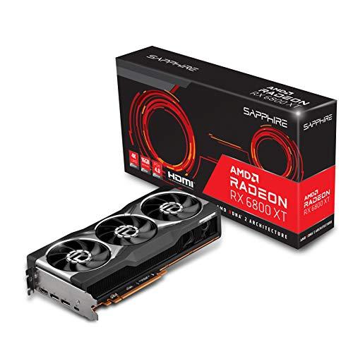 Sapphire 21304-01-20G AMD Radeon RX 6800 XT Gaming Graphics Card with 16GB GDDR6, AMD RDNA 2