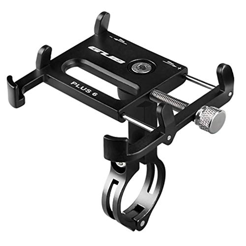 GUB Bicycle & Motorcycle Phone Mount, Aluminum Alloy Bike Phone Holder with 360° Rotation for iPhone 11 12 Pro Max Mini X XR Xs 8 Plus, Samsung S20 S10/S6/Note20/10/9/8 GPS Mount 4-7 Inch