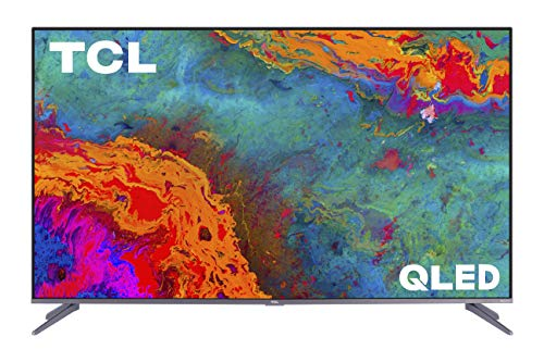 TCL 65-inch 5-Series 4K UHD Dolby Vision HDR QLED Roku Smart TV - 65S535, 2021 Model