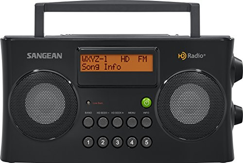 Sangean HDR-16 HD Radio/FM-Stereo/AM Portable Radio