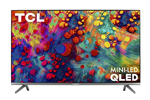 TCL 55-inch 6-Series 4K UHD Dolby Vision HDR QLED Roku Smart TV - 55R635, 2021 Model