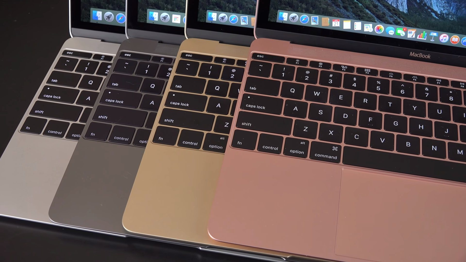 apple 12-inch macbook colors