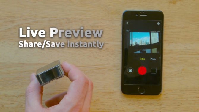 Perfect Memory Camera Wifi Live Preview