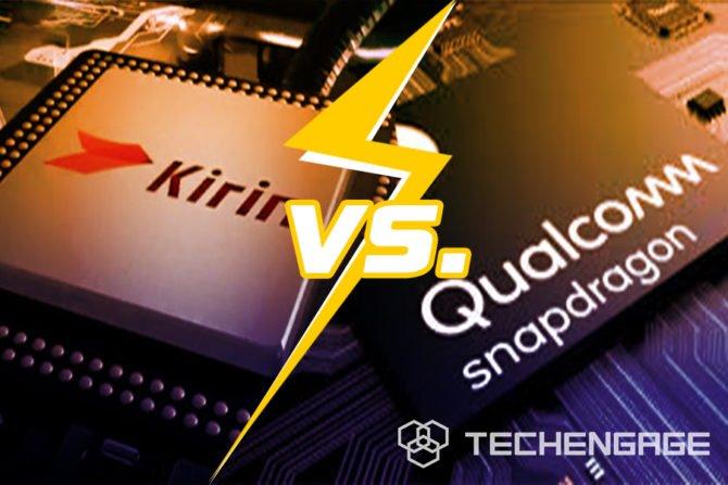 Snapdragon vs Kirin cover