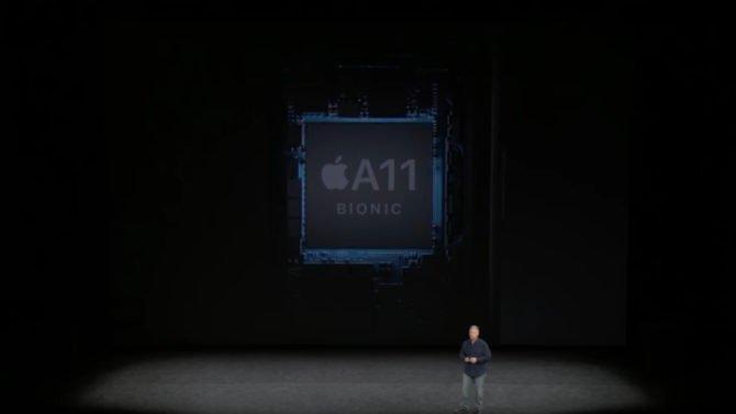 Apple A11 Bionic processors