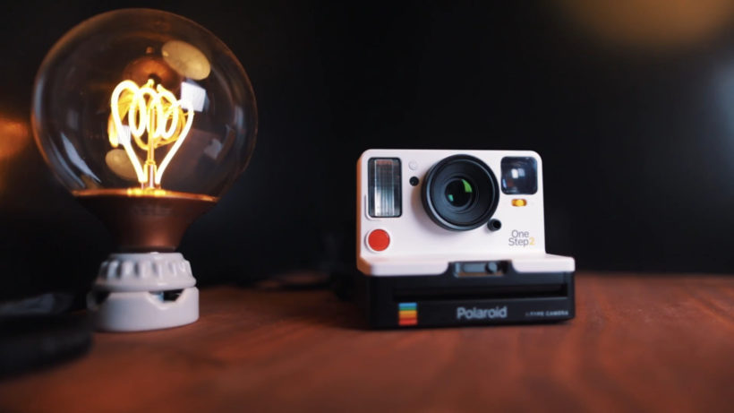 Polaroid OneStep 2 820x461 - Polaroid Originals' latest camera OneStep 2 has Bluetooth