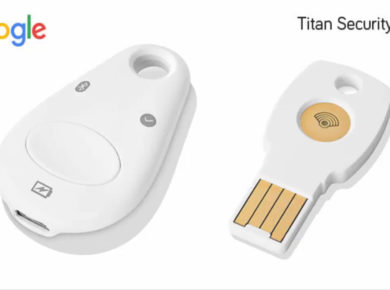 Google's Titan security key