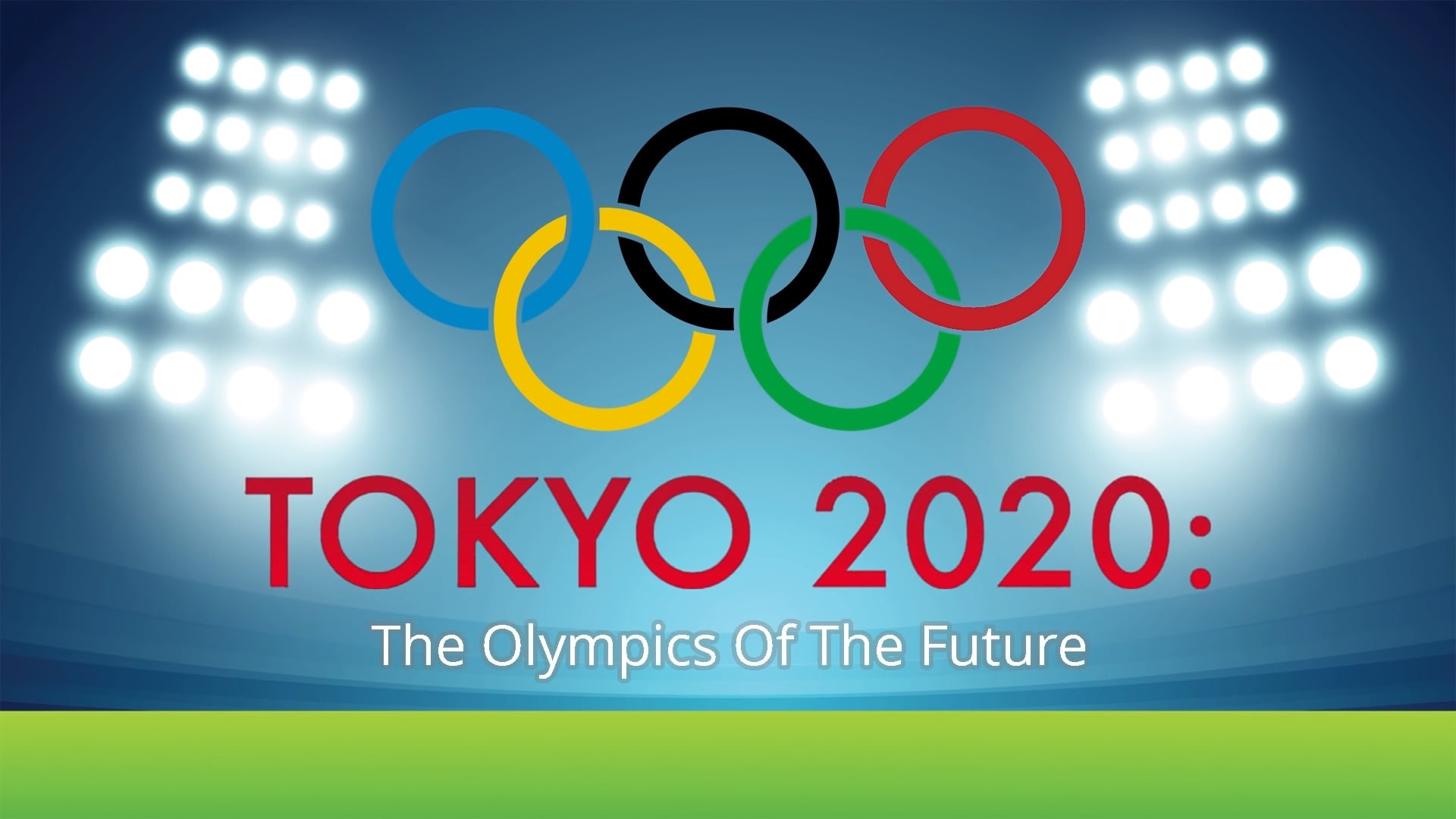 From Tokyo summer games to high-tech Olympics 2020 Tokyo