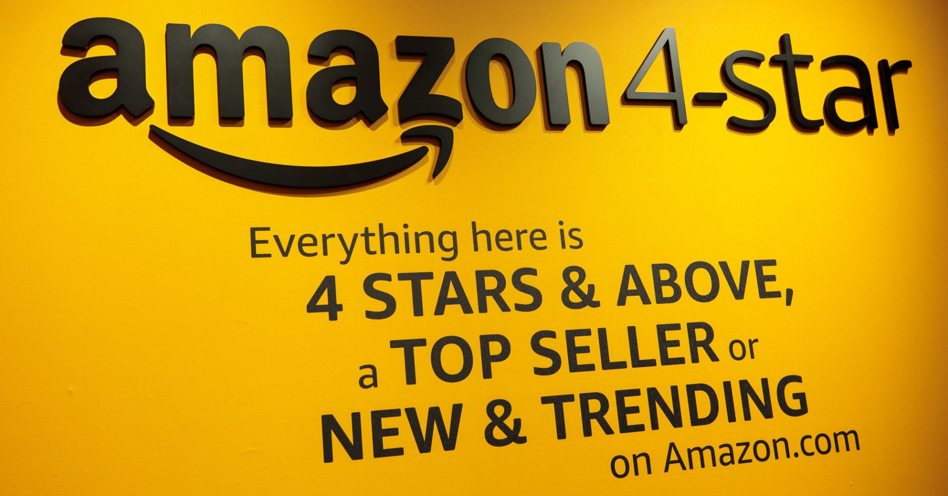 Amazon 4-Star in NYC – Top Selling Products at store
