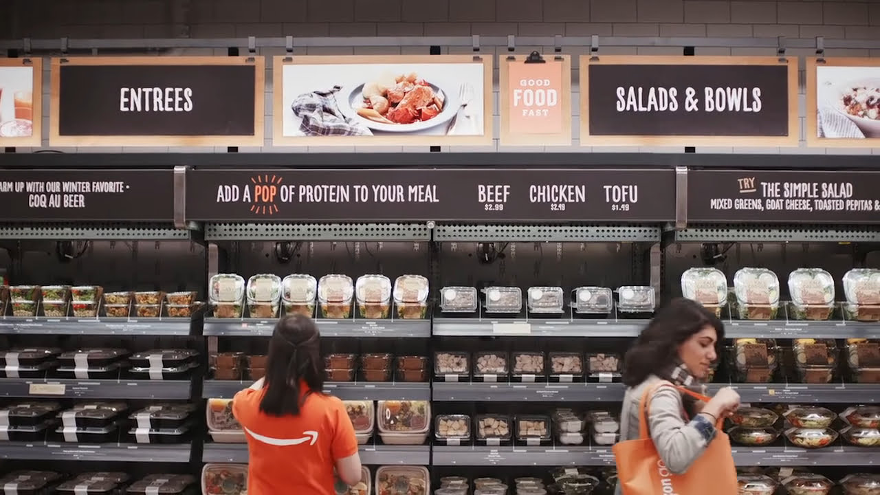 Amazon's cashier-free store now opens in Chicago