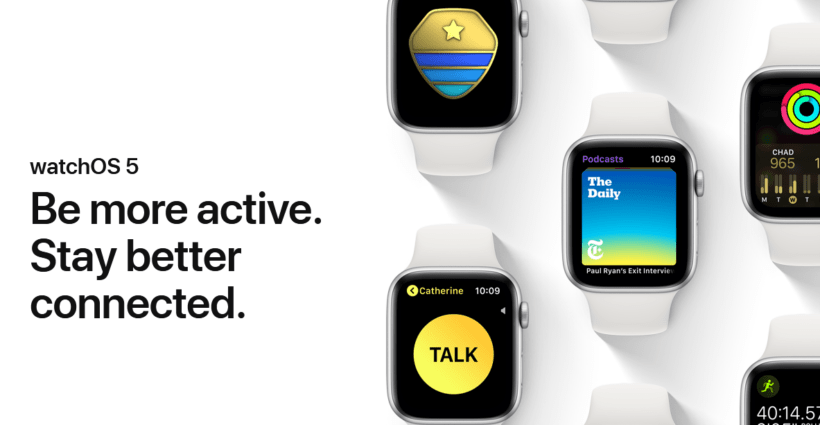 Apple Watch os 5 - Techengage