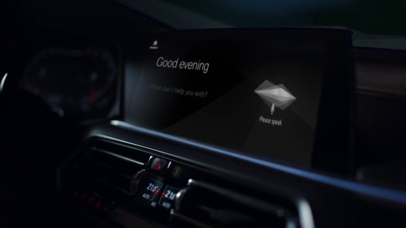 BMW's in-car voice assistant