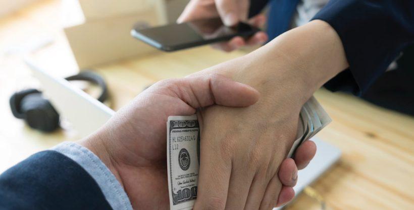 Bribery in Amazon