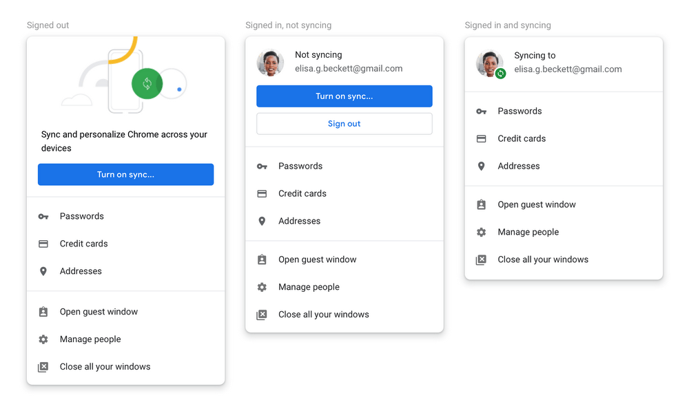 Chrome 70 to help people get over the controversial login feature of 69