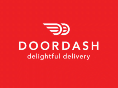 DoorDash food delivery app logo