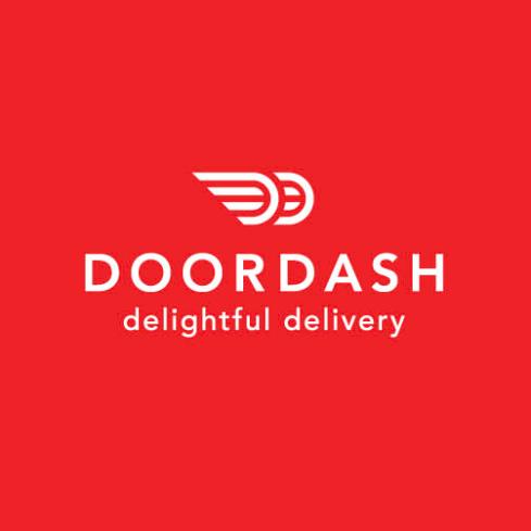 DoorDash food delivery app logo