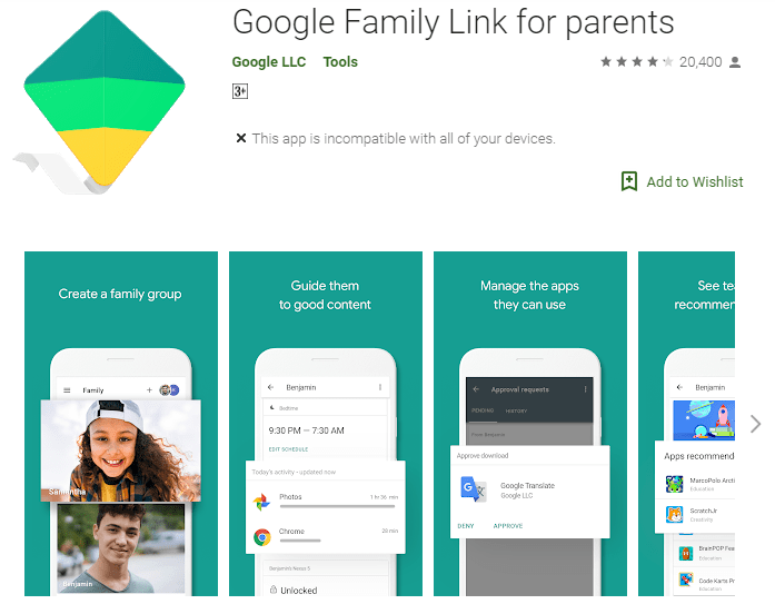 Google's app 'Family link' to include teens!