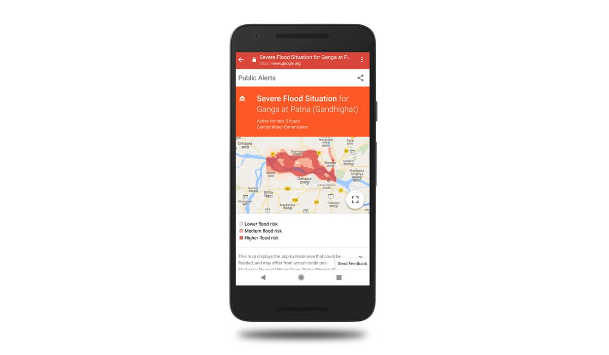 google ai for flood alerts