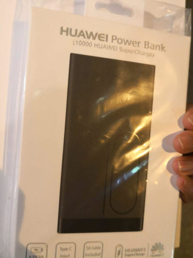 Huawei gifting free power banks to Apple fans
