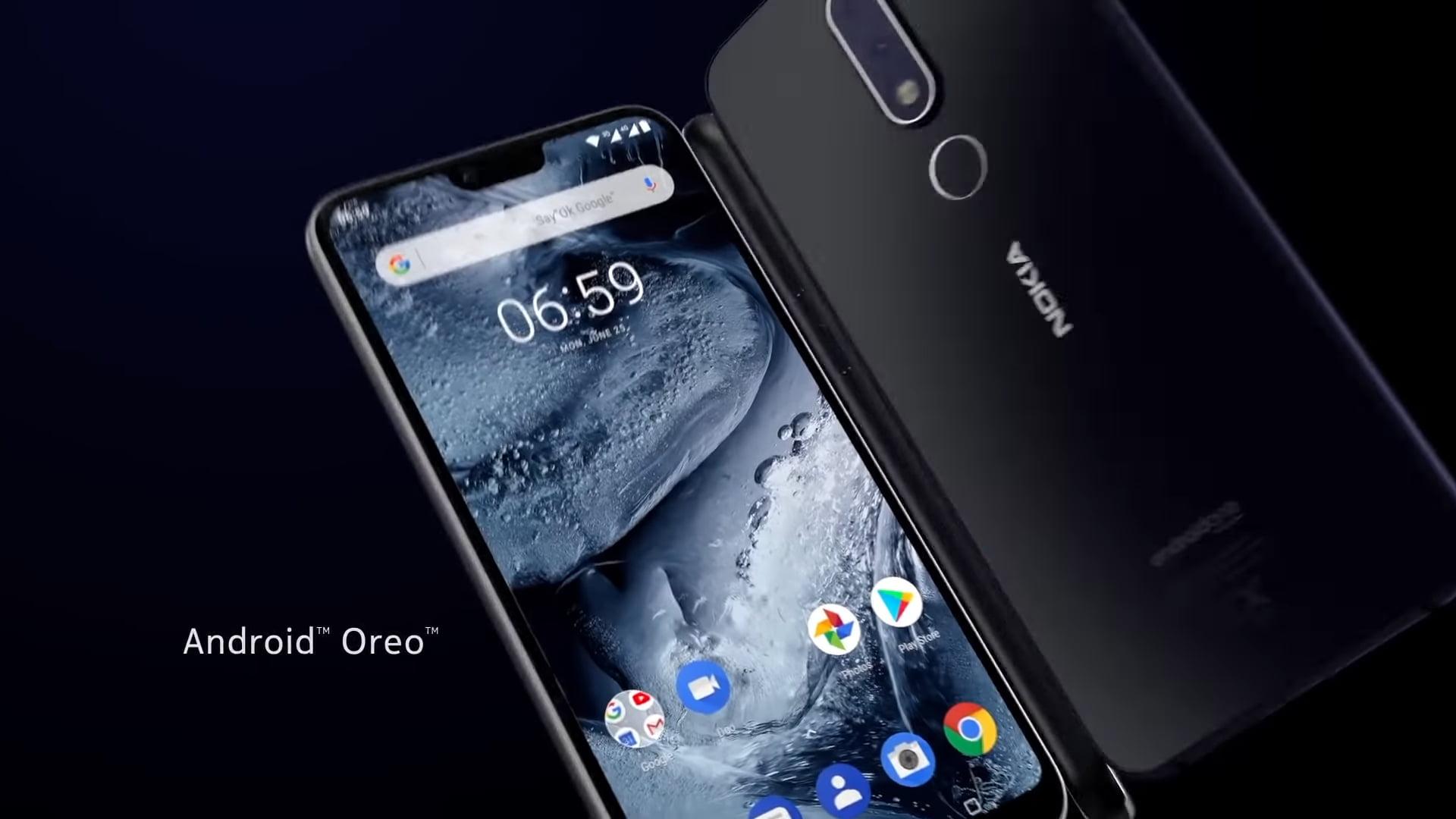 Nokia 6.1 Plus camera