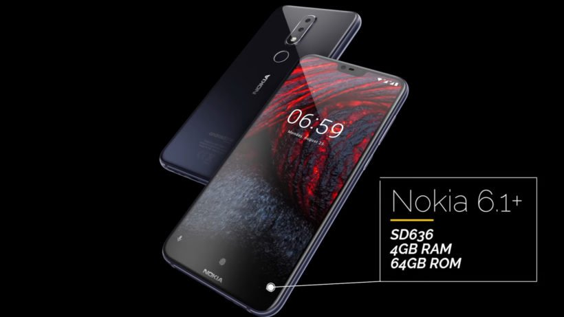 Nokia 6.1 Plus cover 820x461 - Nokia 6.1 Plus launched in Pakistan