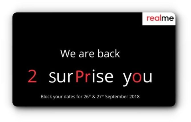 Realme 2 Pro invitation - Techengage
