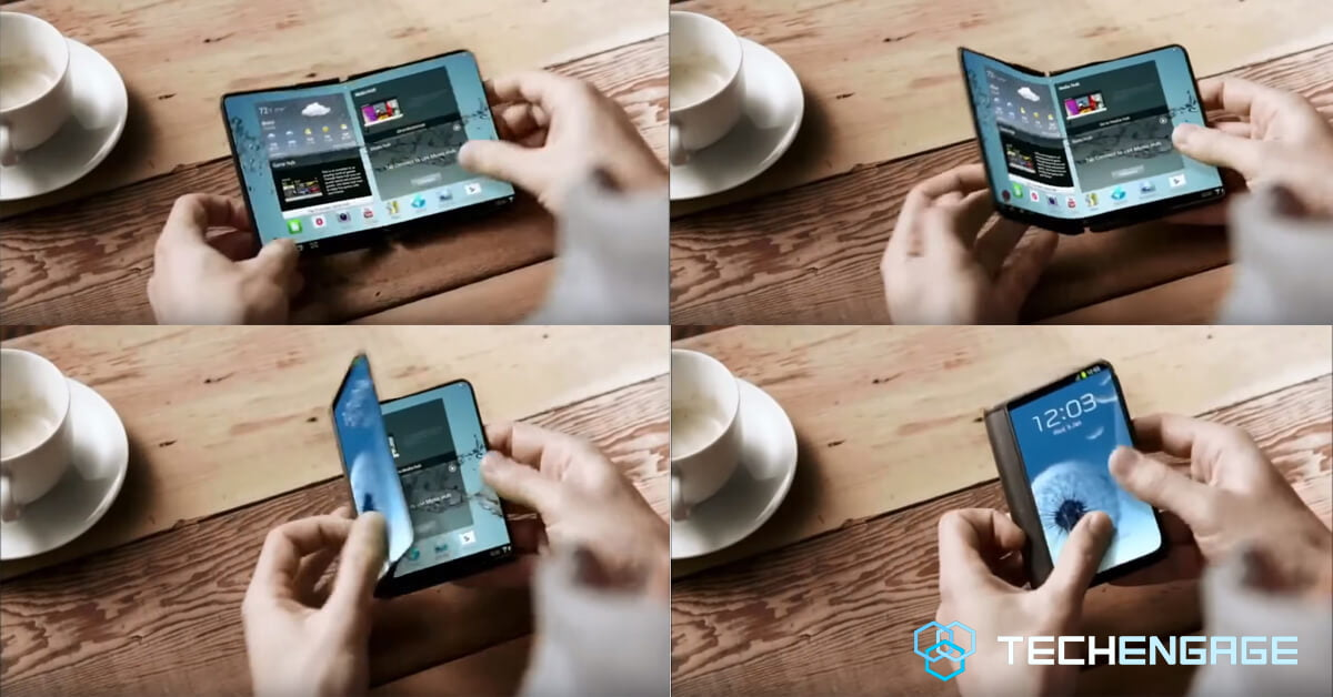 Samsung Galaxy X foldable phone