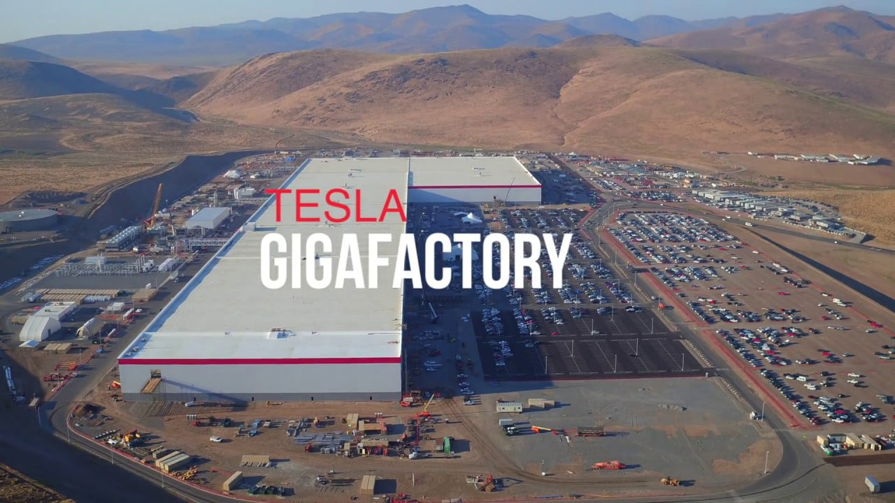 Tesla Factory Caught On Fire