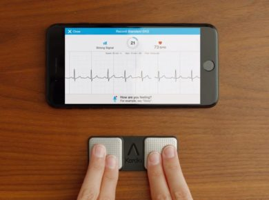 AliveCor announces a new 6-lead ECG reader