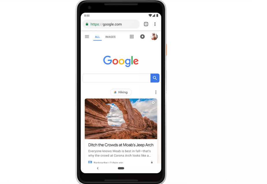 Google is starting to clutter its mobile homepage because of Discover