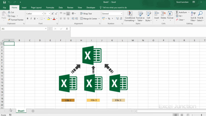Tools to merge Excel files