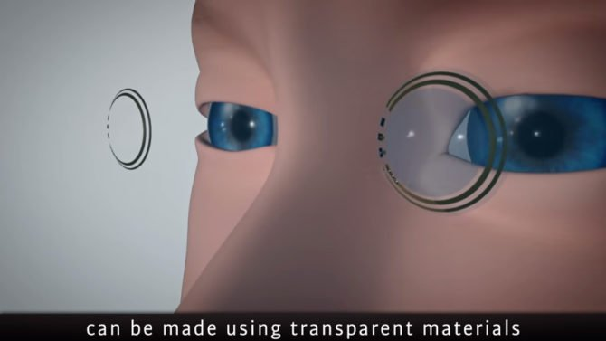 Glucose Contact Lens