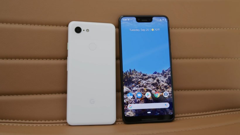 Google Pixel Screens