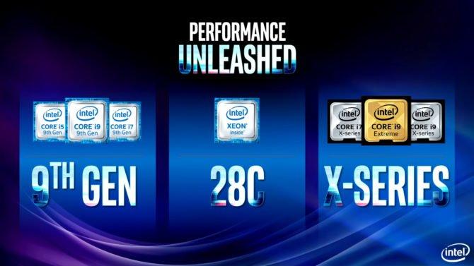 Intel Core i9 9900K - New 9th Gen Octa-core processors