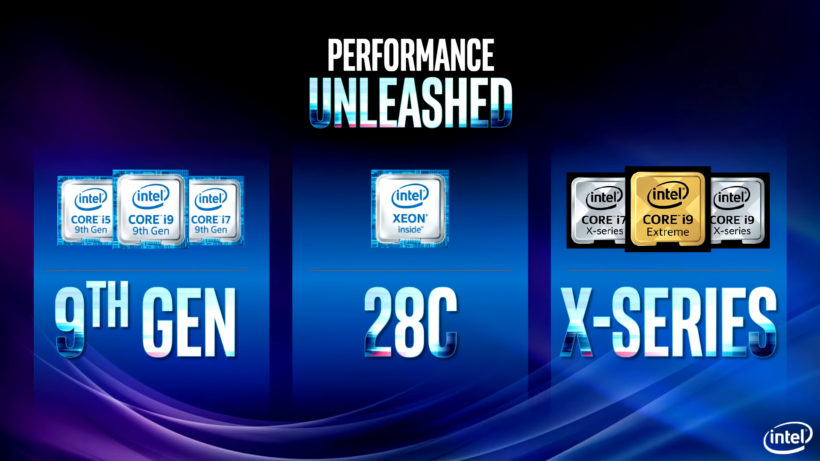 Intel Core i9 9900K - New 9th Gen Octa-core processors