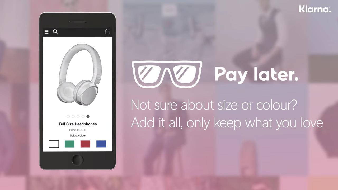 Klarna Payment app startup