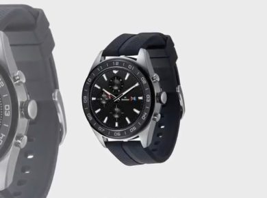 LG's Smartwatch W7 Android Wear OS