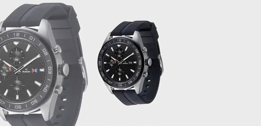 LG's Smartwatch W7 with Android Wear OS