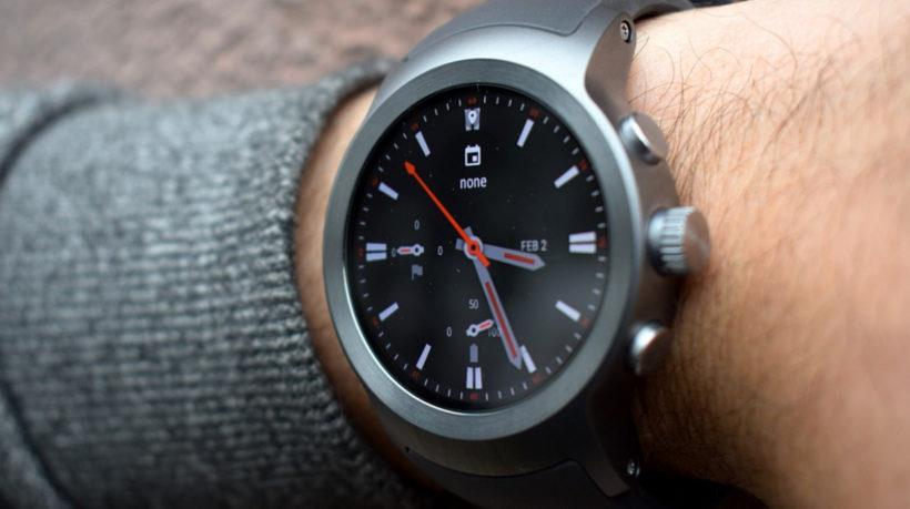 LG Hybrid smartwatch