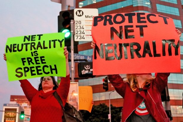 Net neutrality in danger