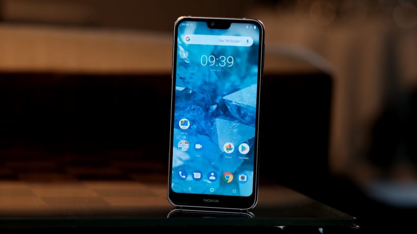 Nokia 7.1 Screen