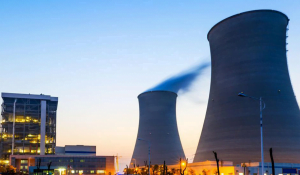 Image of nuclear reactors running