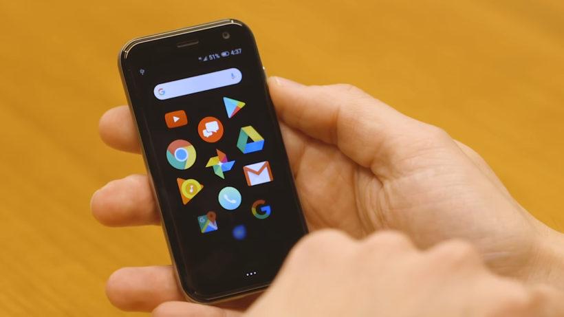 Palm ultra compact smartphone
