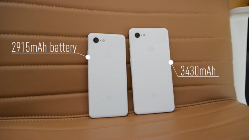 Pixel 3 and Pixel 3 XL Battery