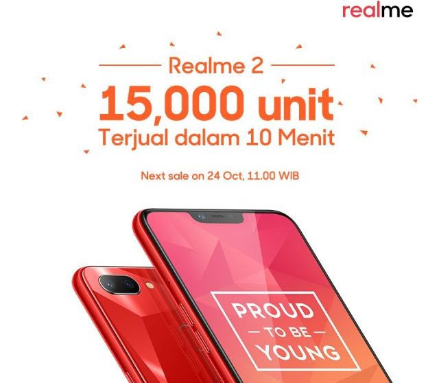 Realme 2 breaks all records in Indonesia