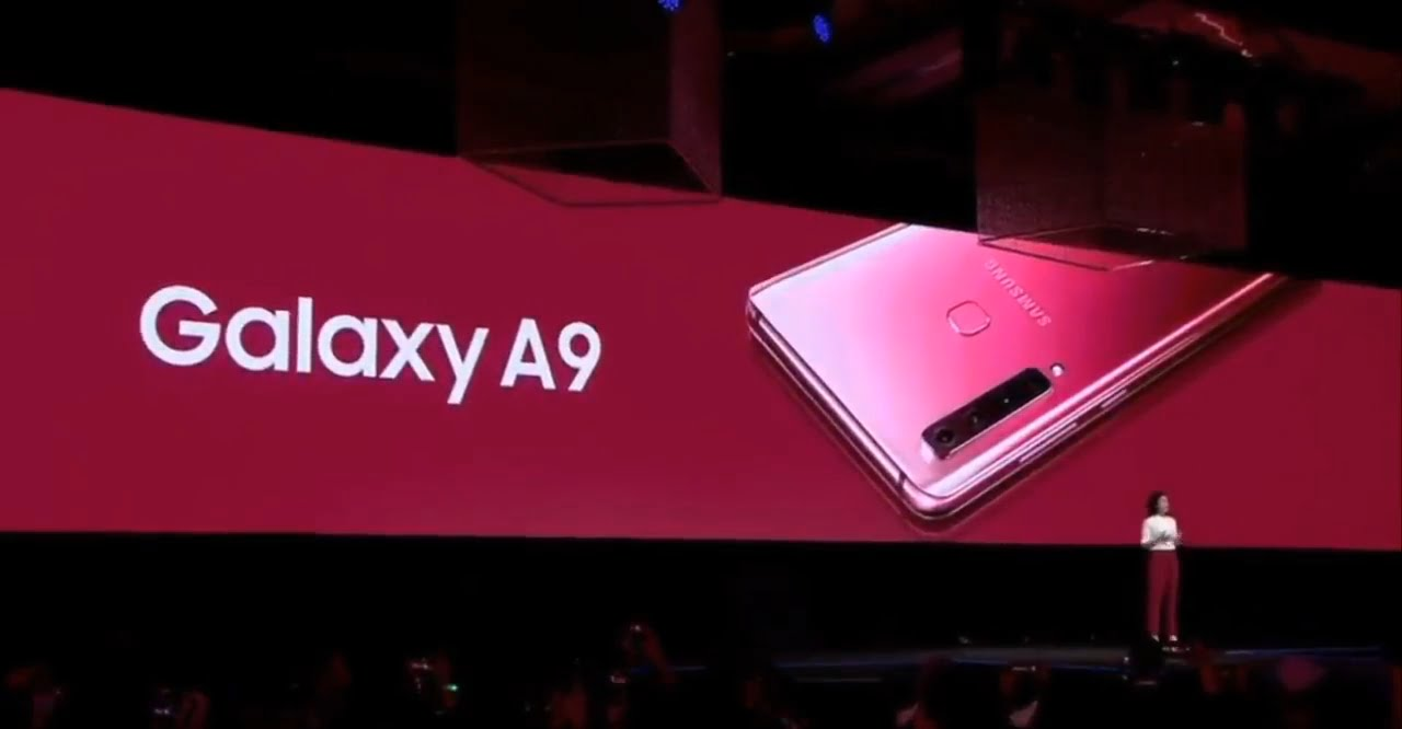 4X fun is Samsung A9 with World's first Quad Camera