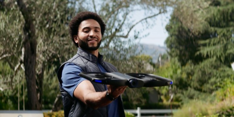 Control the Skydio R1 with your Apple Watch